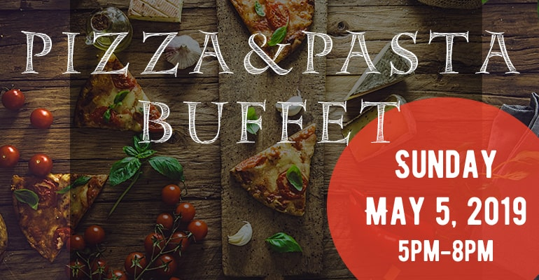 Fundraising Event - Pizza&Pasta Buffet